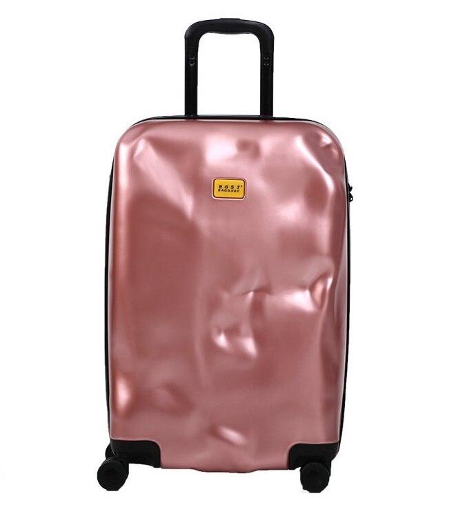 20,24, 28 pouces Spinner roues crash bagages ABS valise femmes bagages de coffre hommes roulant bagages pour les filles de mode