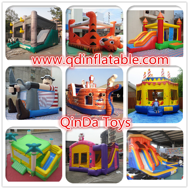 QinDa Toys inflatable bounce castle