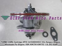 Free Ship Turbo Cartridge CHRA KP35 54359700000 54359700002 For NISSAN Micra For Renault Megane Scenic 1.5L K9K K9K700 K9K702