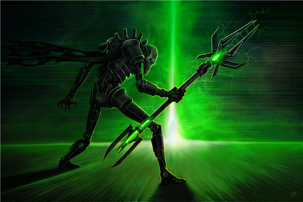 Free shipping 40 000 game wallpapers necrons lord custom for Decor 40k