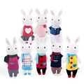 Tiramisu Rabbit Plush Toys Metoo Doll Kids Gifts 8 Style 35cm Bunny Stuffed Animal Lamy Rabbit Toy Birthday Christmas Gifts