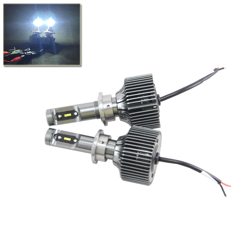 Set Led Headlight Conversion Kits Bulb D1 D2 D3 D4 D1S D2S D3S D4S D1R D2R D3R D4R D Series Driving Lamp Replacement Bulbs 2pcs d1 d2 d3 d4 d2s d2r d2c d4 car led headlight conversion kit 110w 10400lm 6000k white light bulbs