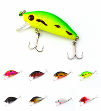 1 Piece 5cm 3 8g artificial bait Fishing Lures Minnow Fishing Tackle Tool Crank Bait Hard