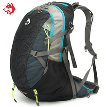 цена на Famous Brand Outdoor Sports Travel Hiking Backpacks Bag For Sport Mochila Camping Climbing Travel Backpack Bags Sporttas