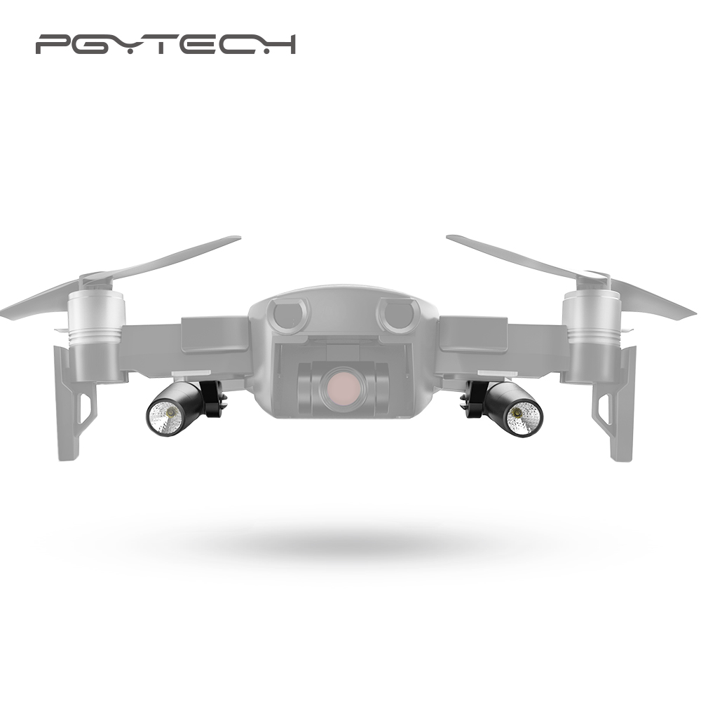 PGYTECH Mavic Air accessories Portable Night Flight LED Light Kit Lighting for DJI Mavic Air Drone Accessories pgytech dji spark led light for dji spark portable night flight led light lighting drone accessories