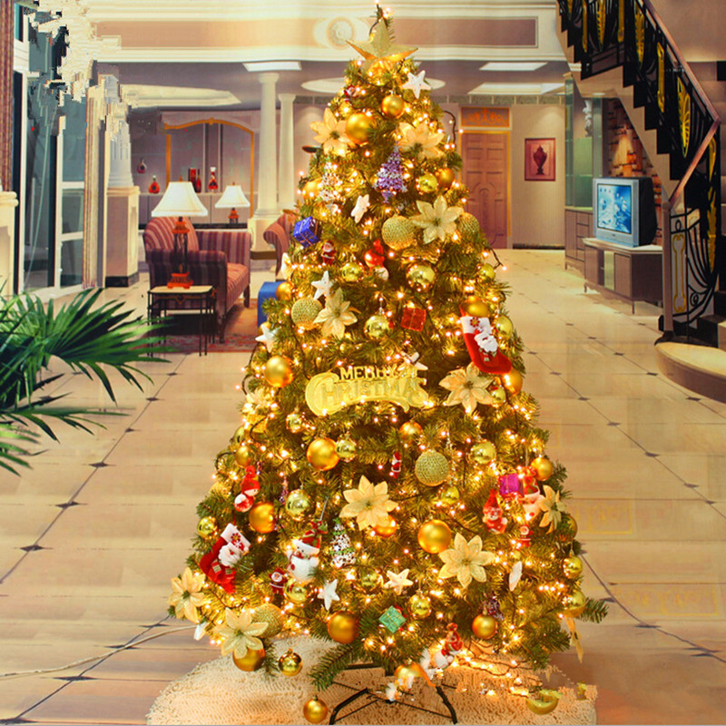Luxurious Christmas Trees: New Year Christmas Tree 180CM / 1.8 Meakin Loaded Luxury
