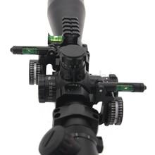 цена на 10pcs Rifle scope Angle Indicator Bubble Scope Level Ring 1inch 25.4mm 30mm For Carl ZEISS/Leupold