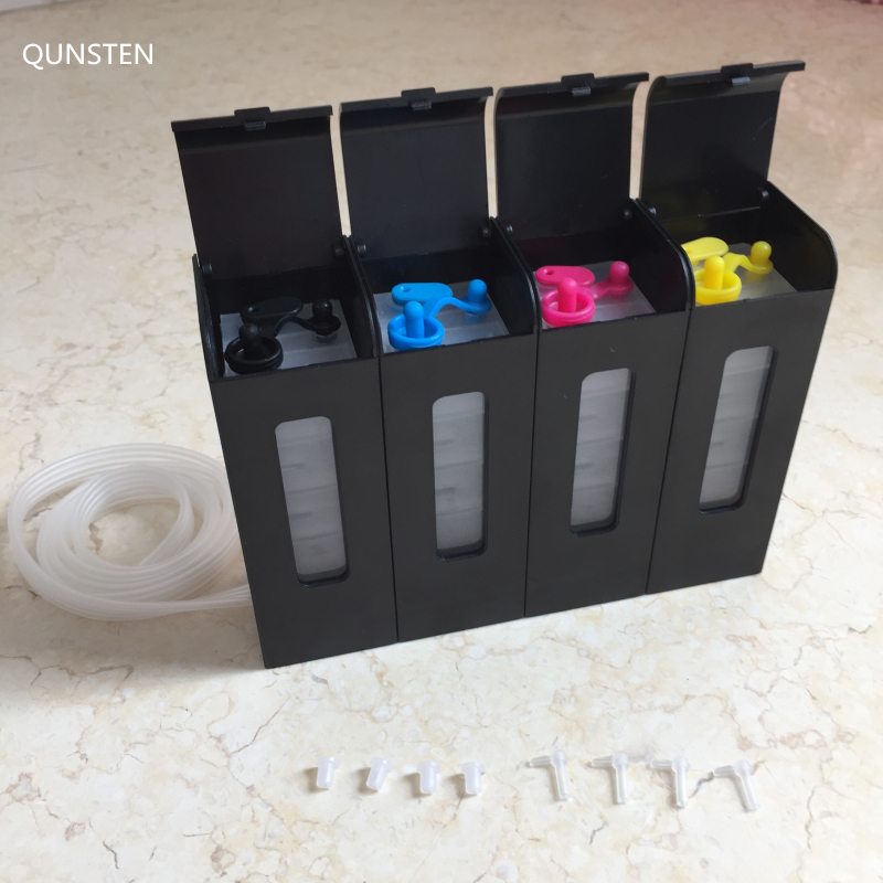 4 Color 65ML Piano Liked New Design Black Outer Ink Tank DIY Universal CISS Ink System For Epson Canon HP Brother Printer