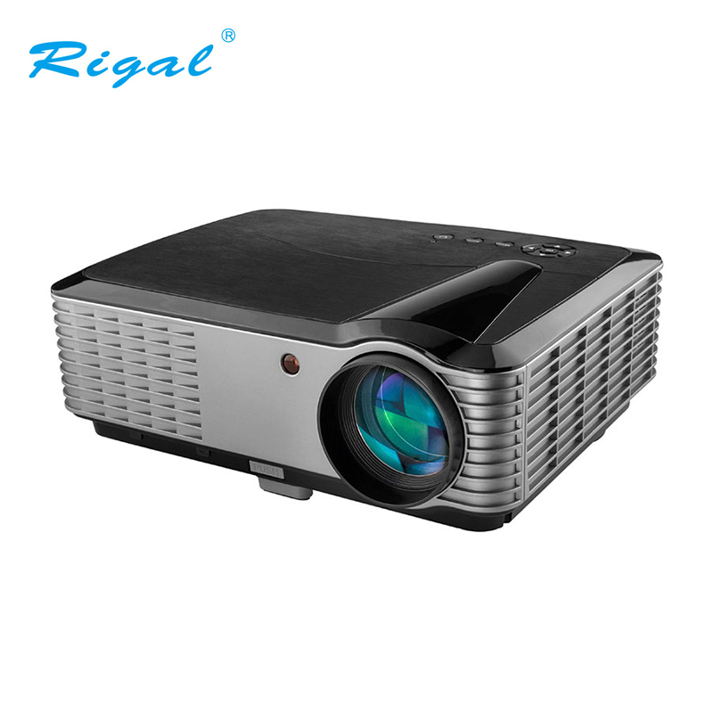 Rigal Video Projector With Full HD 1920 1200 Resolution For Home ntertainment Cinema Office 4000 Lumen