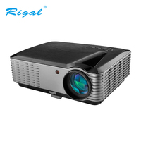 Rigal Video Projector With Full HD 1920*1200 Resolution For Home ntertainment Cinema Office 4000 Lumen Projector Home Theatre 3D