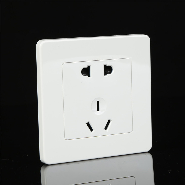 Accor white five hole wall socket manufacturers 5 hole power outlet ...