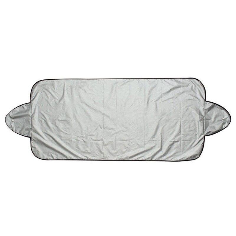 Car Snow Ice Protector Visor Sun Shade Fornt Rear Windshield Cover Block Shields Jun0518