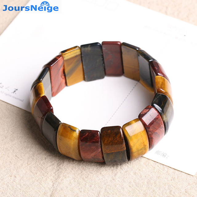 Whole Genuine Yellow Tiger Eye Natural Stone Bracelets Lucky Business For Women Men Hand Row Energy
