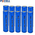 10pcs ICR10440 in 3.7v with 350mah capacity  cylindrical  rechargeable lithium ion battery