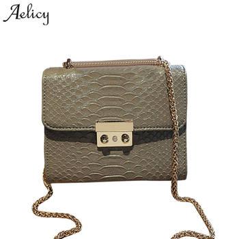 e2a11f95afbe Aelicy роскошные новые крокодиловые зерна лакированные кожаные сумки через  плечо для женщин сумка на плечо женские сумки Bolsa Feminina Sac основной