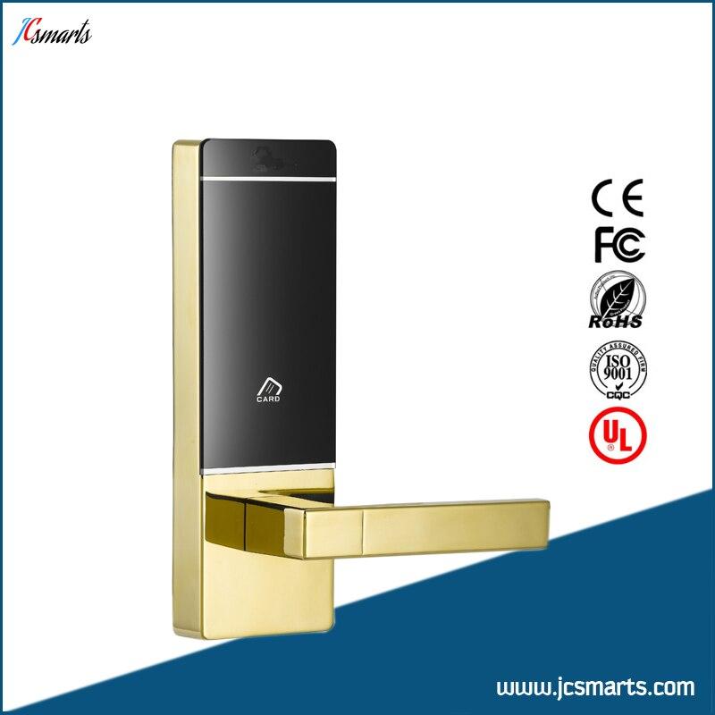 Electronic padlock RFID hotel door lock system with mini size hotel lock system rfid t5577 hotel lock gold silver zinc alloy forging material sn ca 8037