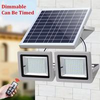 LED Floodlight Solar Light 5730 SMD Solar Powered LED Flood Light Sensor Outdoor Garden Security Wall Lamp 36W 63W 80W 100W IP65