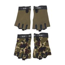 Tactical Military Camouflage European Gloves Combat Half Finger Outdoor Sport Non Slip font b Fitness b