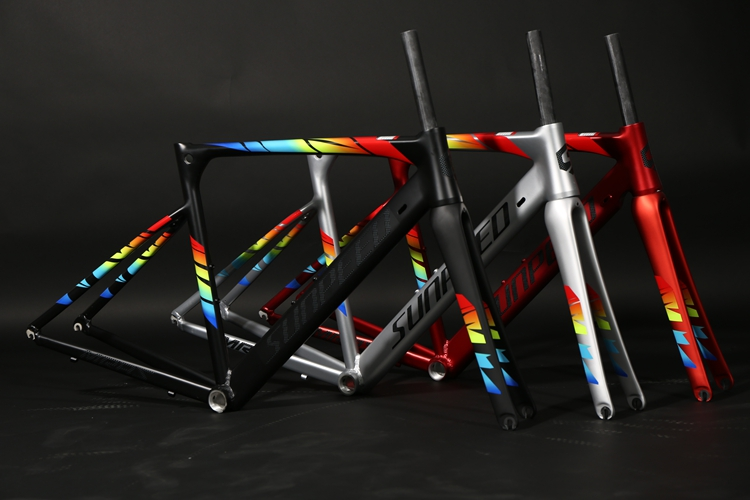Headset Road-Frame Carbon-Fork MARS Alloy Super-Light And