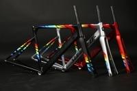 Road Bike Frame 2018 R8000 and MARS Super Light alloy road Frame+ Carbon Fork+headset racing bicycle frame