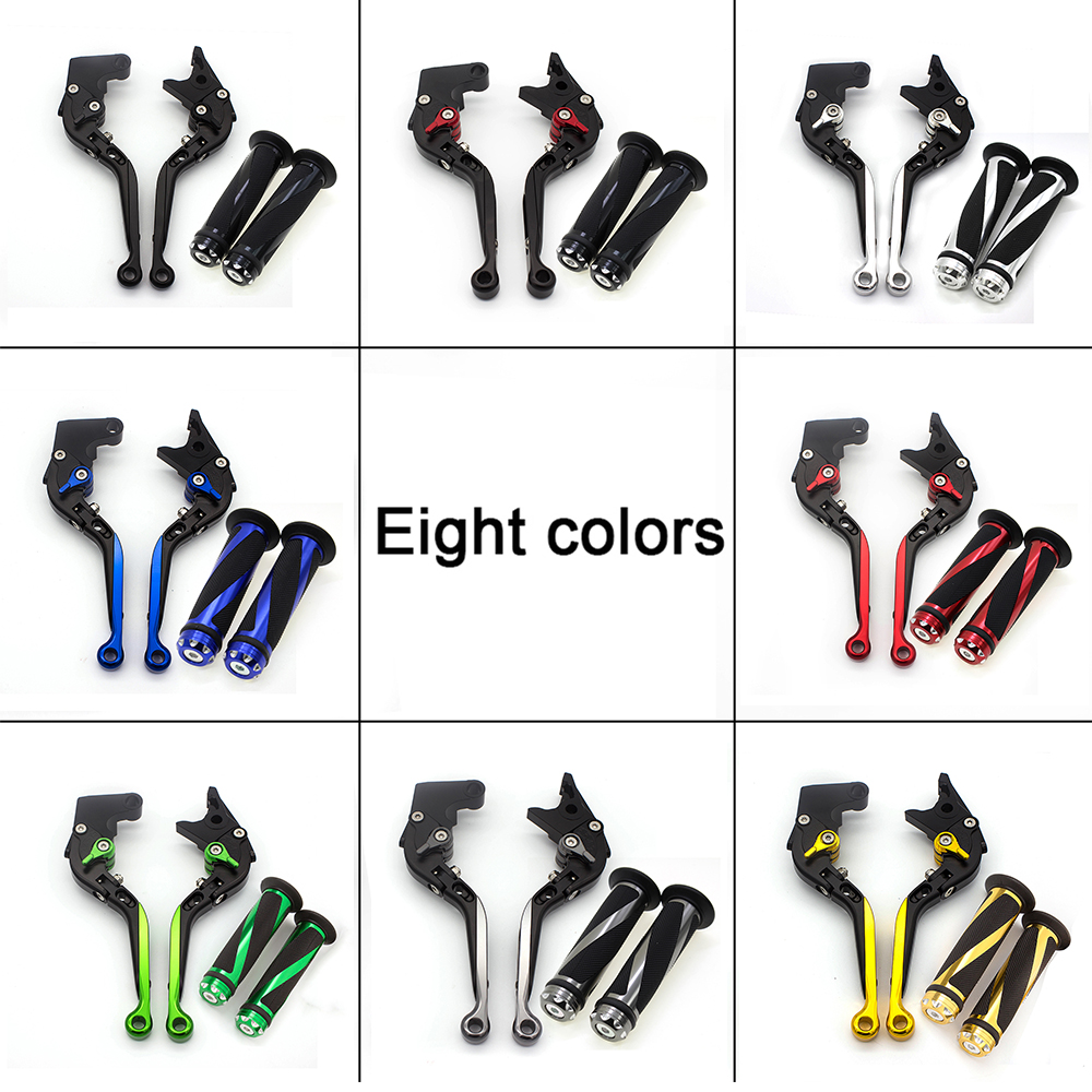 For Honda GROM MSX125 MSX 125 <font><b>CBR500R</b></font> CB500F CB500X 2014 - <font><b>2018</b></font> Adjust Fold Extend Motorcycle Brake Clutch Levers & Handle Grips image