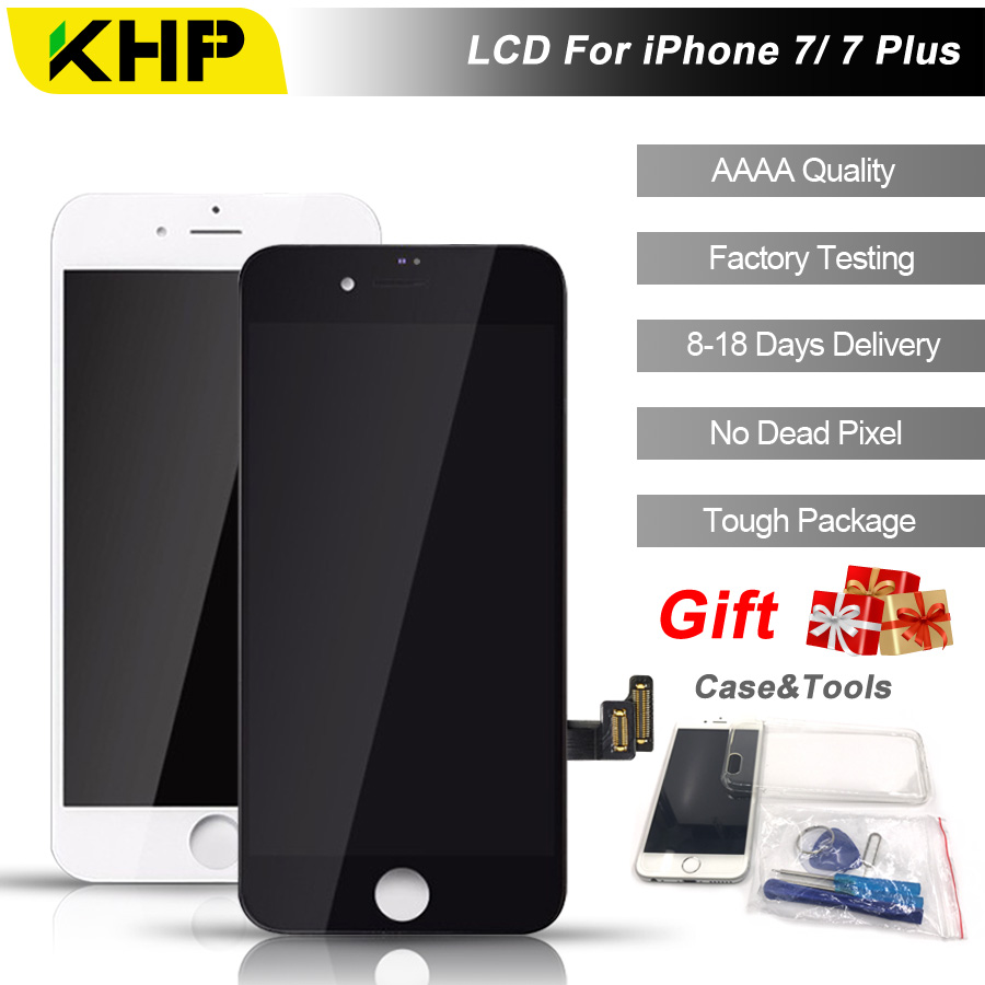 2018 100 Original KHP AAAA Screen LCD For IPhone 7 Plus Screen LCD Replacement Screen IPS
