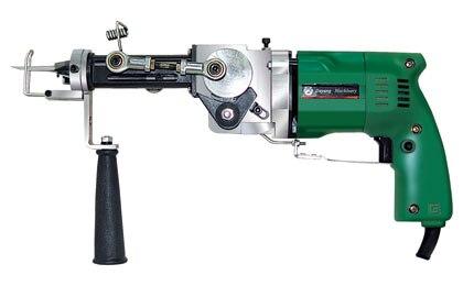 Machines électriques de tapis de pistolet à touffeter à la main (peut faire à la fois Pile coupée et Pile en boucle)