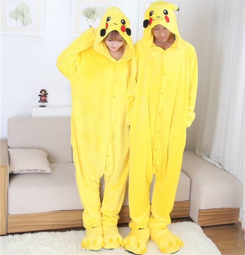 Sexy Pijama Pokemon Pikachu Cosplay Costume Adulto Mascot -7051