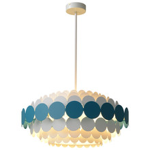 Creative personality postmodern Macaron pendant light Nordic living room restaurant bedroom bubble ball led lamp