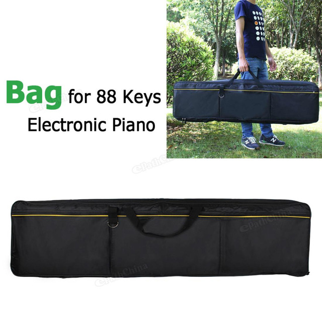 Portable Oxford Fabric Waterproof Bag Case Cover for 88 Keys Electronic Keyboard Piano Musical Instruments Parts Accessories