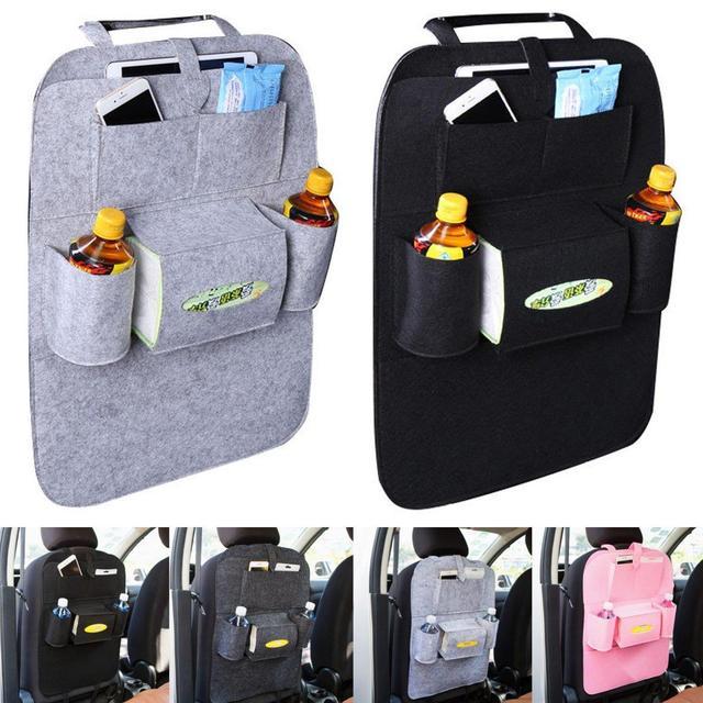 7 Color Auto Car Seat Storage Bag Back Ravel Hanger Styling