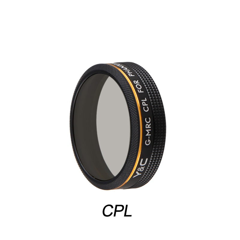 Screw in CPL Lens Filter for DJI Phantom 4 Pro 4A Advanced Drone Quadcopter Camera Circular Polariser Lens Spare Parts