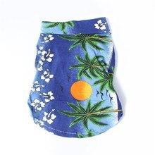 Vest Hawaiian Pet Clothes