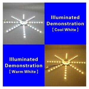 Image 4 - Tavan işık kaynağı 12W 16W 20W 24W LED tavan lambası ahtapot modül lamba kurulu 220V Led ampul kolay kurulum tavan ışık