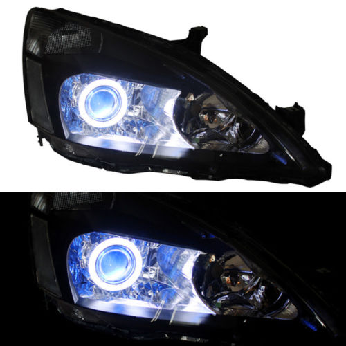 Right & Left Xenon Headlight Refit For Honda Accord 2003-2007 right combination headlight assembly for lifan s4121200