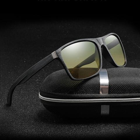 Polarized Sunglasses men Protection Driving Goggles Drivers Night-vision Sunglasses Anti-shock Sports Sunglasses UV400 Glasses Multan