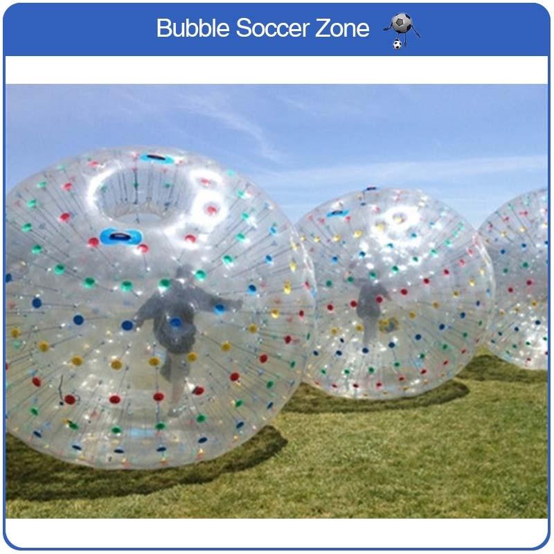 Boule gonflable de Zorb de PVC de 3 m pour le Bowling extérieur boule de Zorb de corps gonflable de Sport de Bowling humain