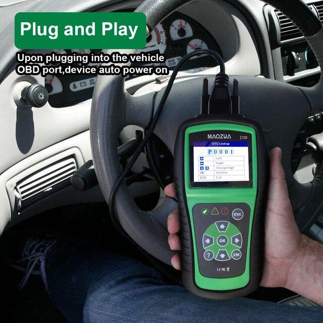 Vehicle Code Reader >> Maozua Z100 Auto Car Code Reader Car Diagnostic Tool Auto Fault
