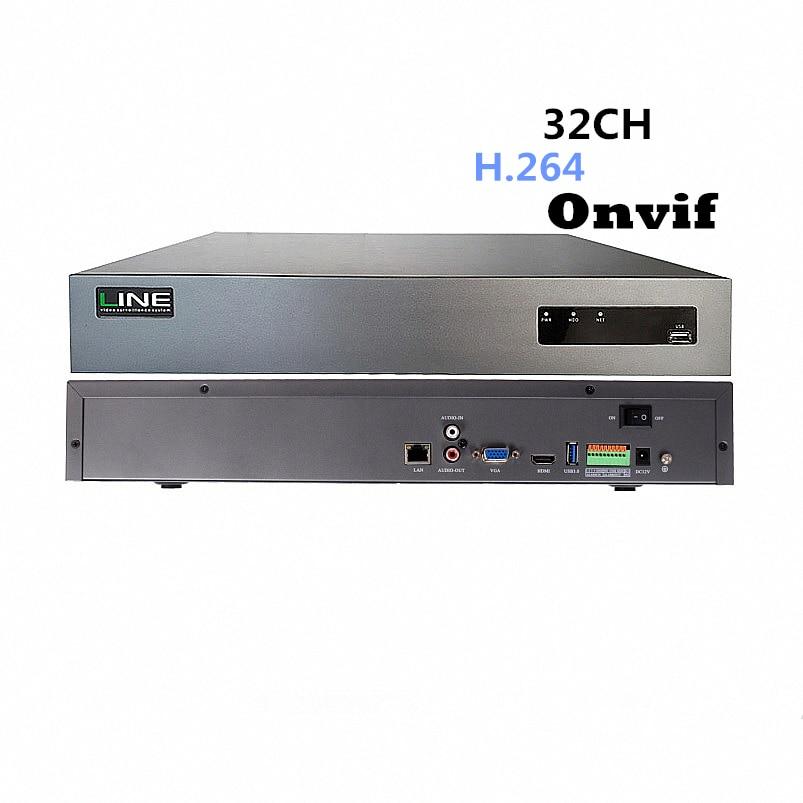 32ch Nvr 1080 P Onvif Ahd Câmera de Segurança IP Linux 4HDD H264 Dvr Net Rede Gravador de Vídeo Digital
