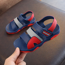 Children Sports Beach Sandals PVC Shoes 2019 New Summer Boys Roman Style Kids Breathable Rubber Girls Casual