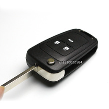 Режиссерский фоб cruze включены chevrolet ключа флип логотип кнопки лезвия ключ