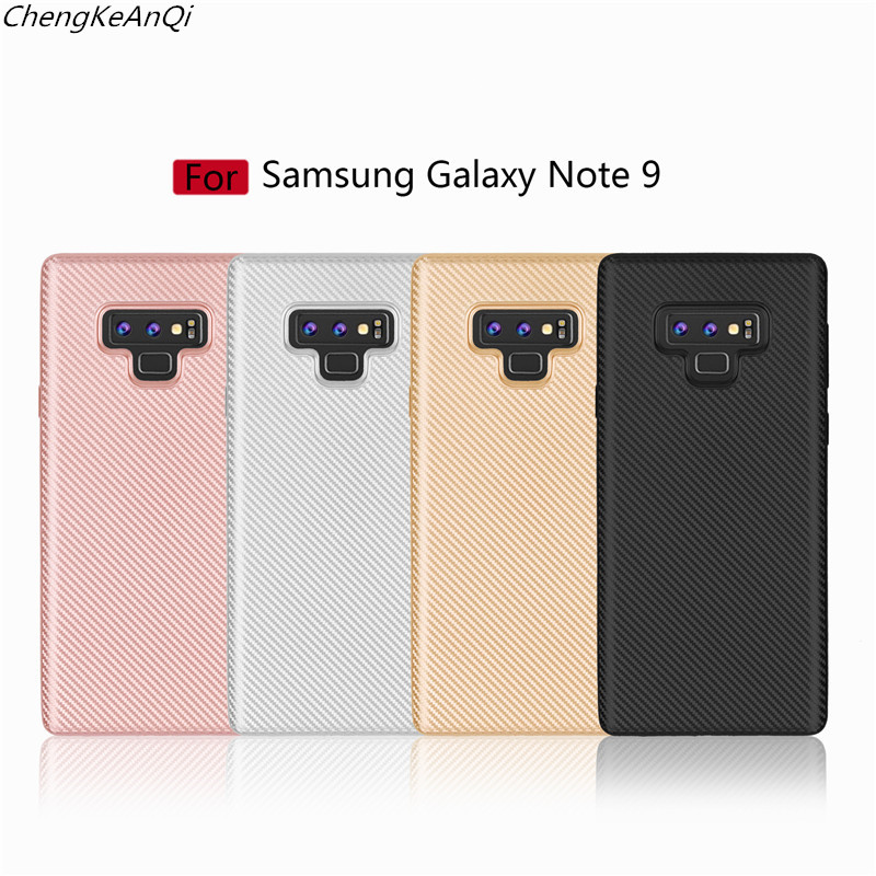 For Samsung Galaxy Note 9 Case Soft Silicone Carbon Fiber Full Protection Back Cover Case For Samsung Galaxy Note 9 Back Cover