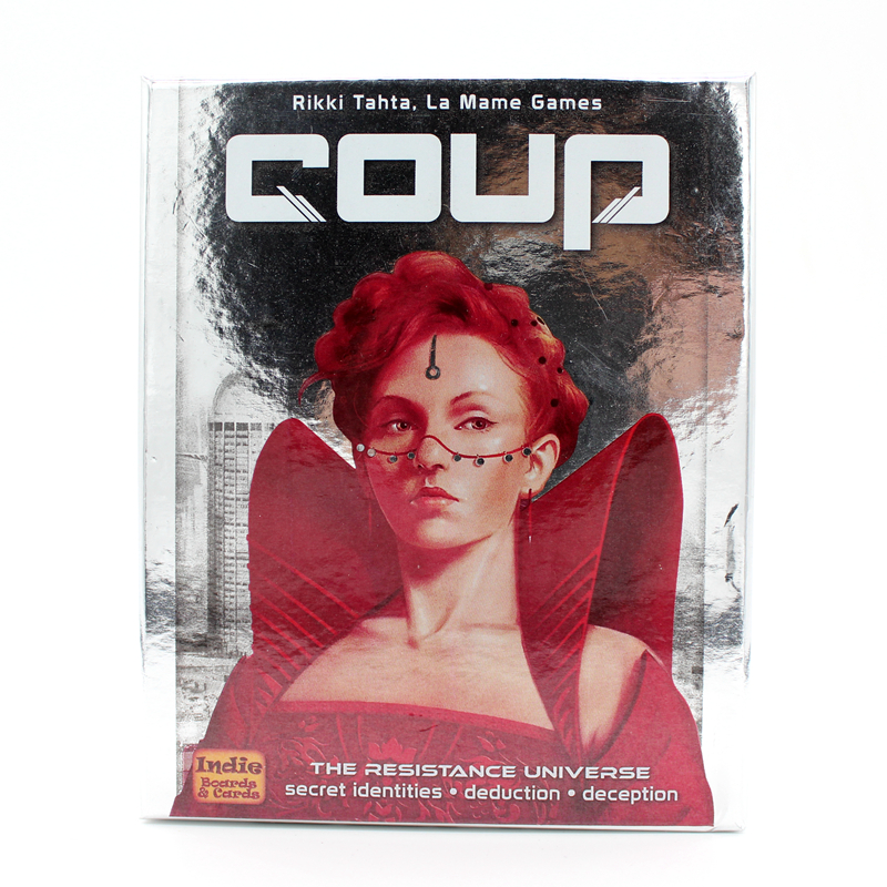 Coup Reformation Board Game 2-6 Players For Party/Family ,English And Chinese Edition Easy To Play