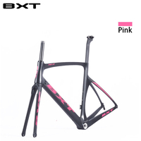 2017 TOP NEW T800 Full Carbon Road Frame Bike Racing Bicycle Frameset Accept Custom Logo Size