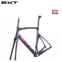 2017 TOP NEW T800 Full Carbon Road Frame Bike Racing Bicycle Frameset Accept Custom Logo Size