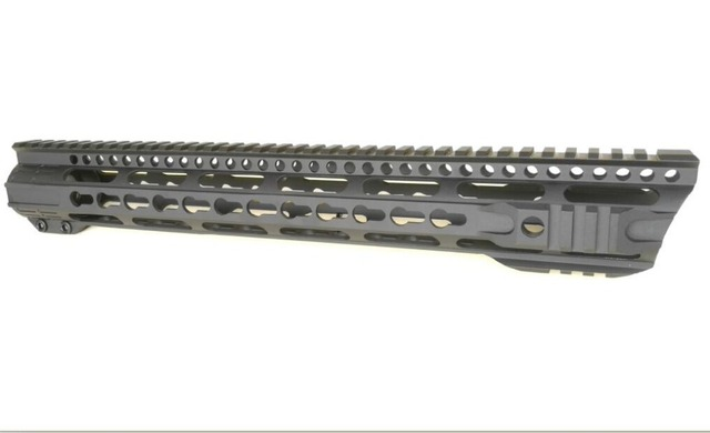 US $89 95 |heavy duty 15 inch keymod handguard with shark head for AR15  Stocked in USA Sent via USPS-in Hunting Gun Accessories from Sports &