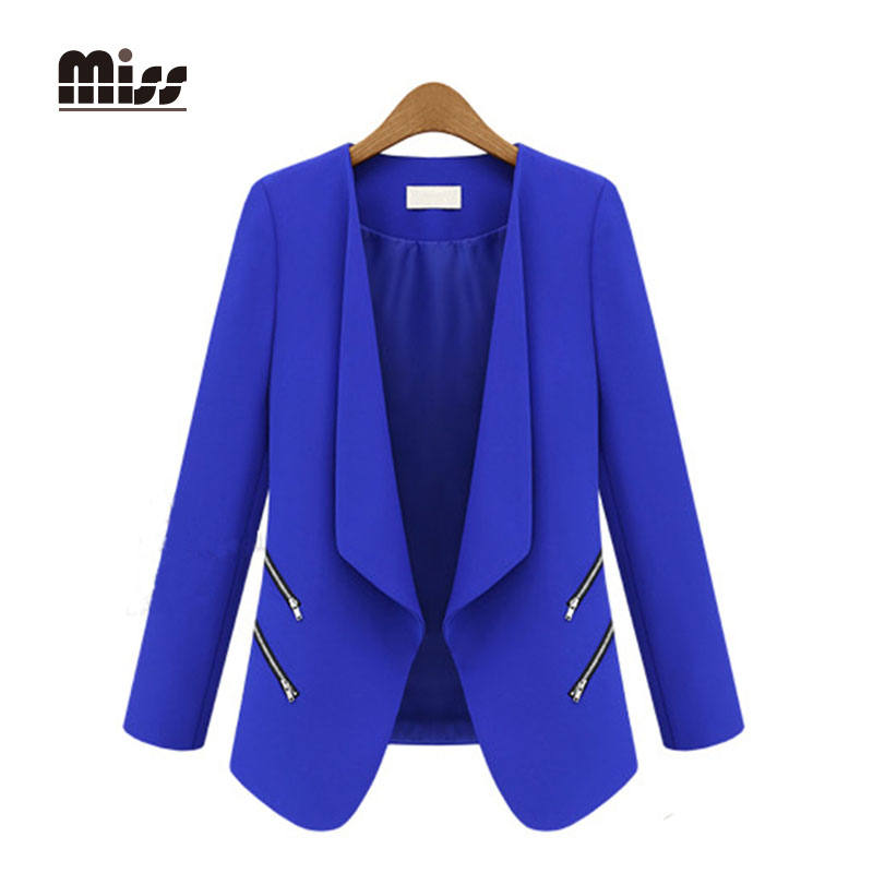 Compare Prices on Womens Royal Blue Blazer- Online Shopping/Buy ...