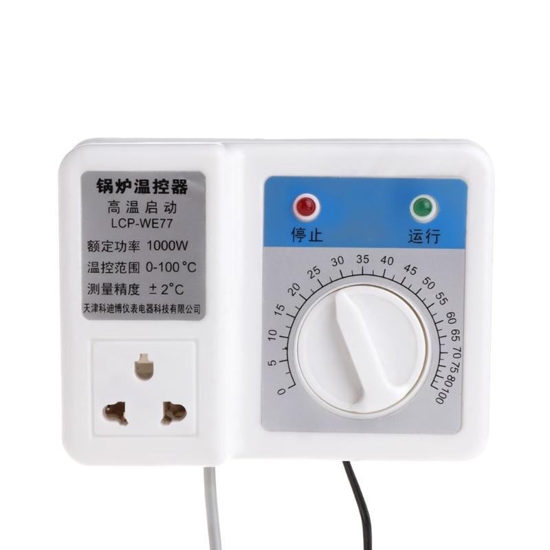 220V 1000W Boiler Thermostat Regulator Circulating Pump Temperature Controller circulating fluidized bed boiler technology