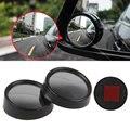 2 Шт. Авто Автомобилей Blind Spot Зеркало Заднего Вида Боковая Широкоугольный Круглый Черный