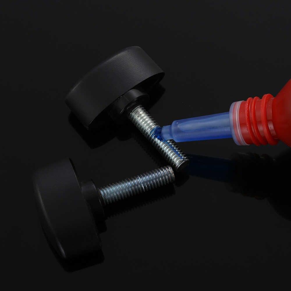 1 botella de 10ml de alambre adhesivo de sellado Anti-corrosión hilo Anti-presión azul 242 pegamento anaeróbico tornillo de bloqueo anaeróbico adhesivo